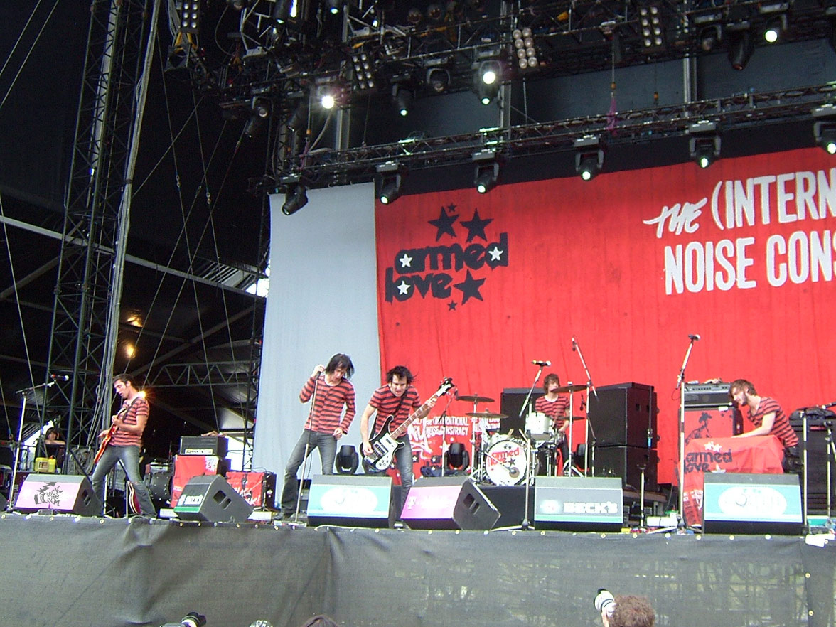 The International Noise Conspiracy live at Southside Festival