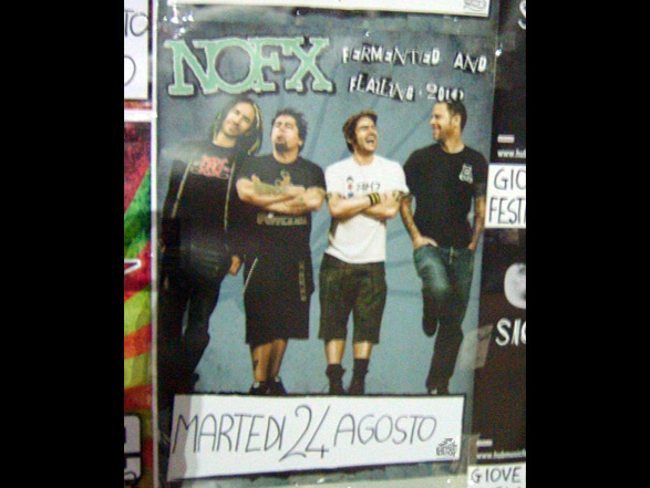 NoFx Tourposter Fermented and Flailing