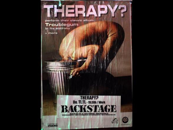 Therapy? - Troublegum Show Tourposter