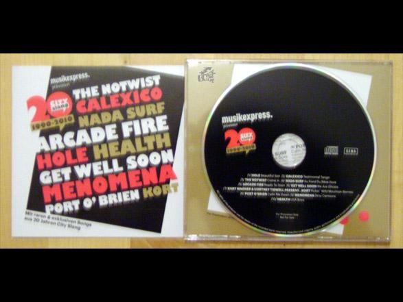 20 Jahre CitySlang - Musikexpress CD