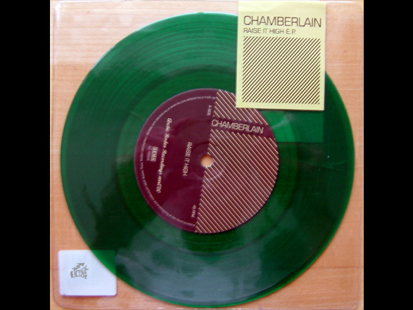 Limited green Chamberlain vinyl called Raise It High