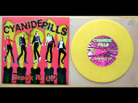 CYANIDE PILLS - Break It Up Vinyl Cover