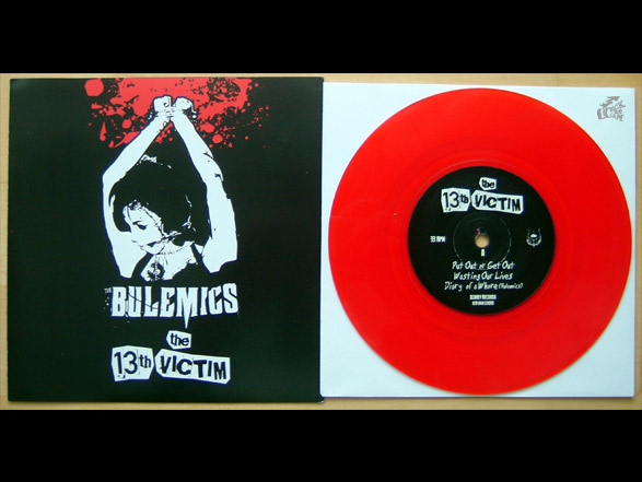 The Bulemics + The 13th Victim Vinyl Cover