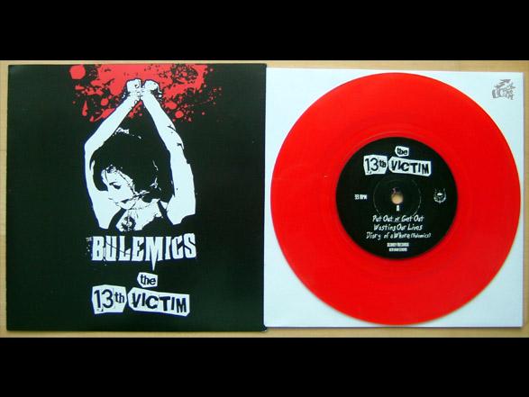 The Bulemics + The 13th Victim Vinyl Cover