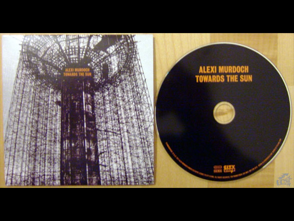 ALEXI MURDOCH - Towards The Sun - CD Cover