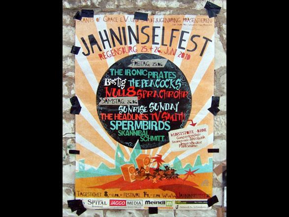 Jahninselfest Regensburg 2010 - Poster