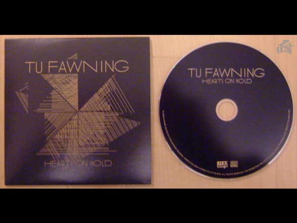 TU FAWNING - Hearts On Hold - CD Cover