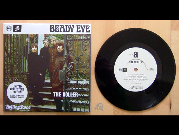 BEADY EYE - The Roller - Vinyl Cover Rolling Stone Beilage