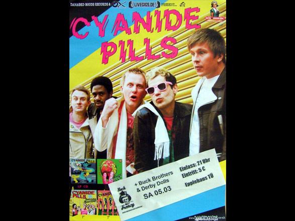 Cyanide Pills - Poster