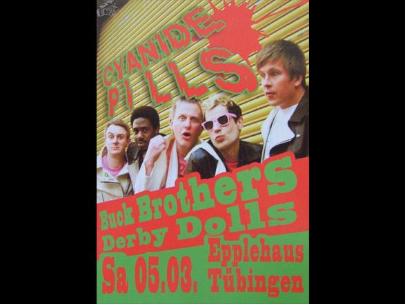 Derby Dolls -  Konzert-flyer