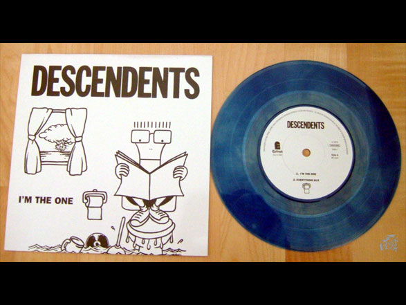 DESCENDENTS - I'm The One Vinyl Cover