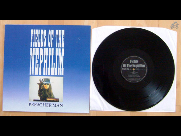 FIELDS OF THE NEPHILIM - Preacher Man Vinyl Cover