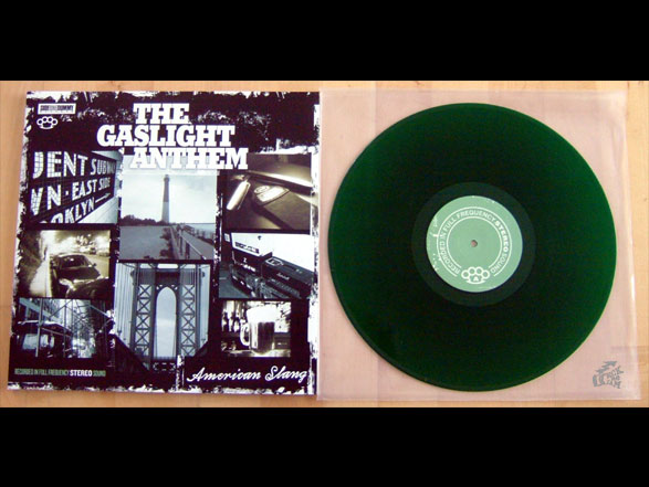 THE GASLIGHT ANTHEM - American Slang Vinyl Cover
