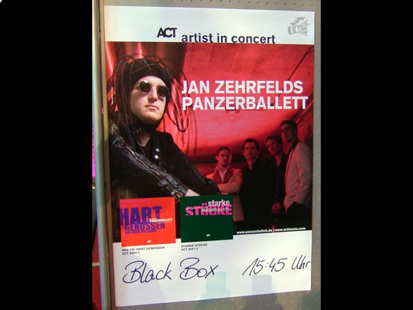 Jan Zehrfelds Panzerballett - Poster