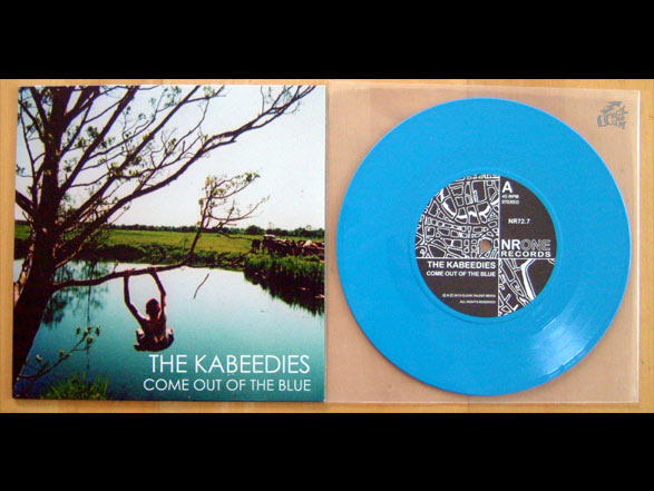 THE KABEEDIES - Come Out Of The Blue Vinyl Cover