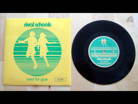 RIVAL SCHOOLS - Used For Glue Vinyl Cover