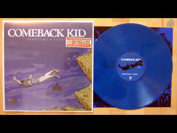 COMEBACK KID - Symptoms + Cures Vinyl Cover