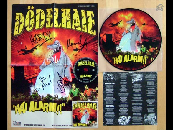 DÖDELHAIE - Hai Alarm!! Picture Vinyl