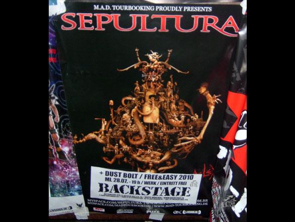 Sepultura - Poster
