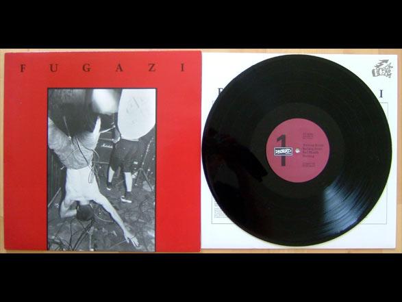 Gutes FUGAZI Vinyl auf Dischord Records