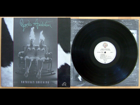 JANE'S ADDICTION - Nothing's Shocking Vinyl Cover