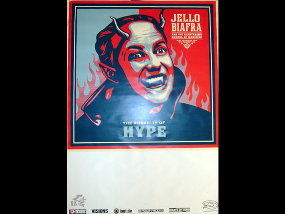 Jello Biafra And The Guantanamo School Of Medicine Tourposter