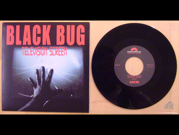 BLACK BUG - Television Screen 7 inch Vinyl Cover