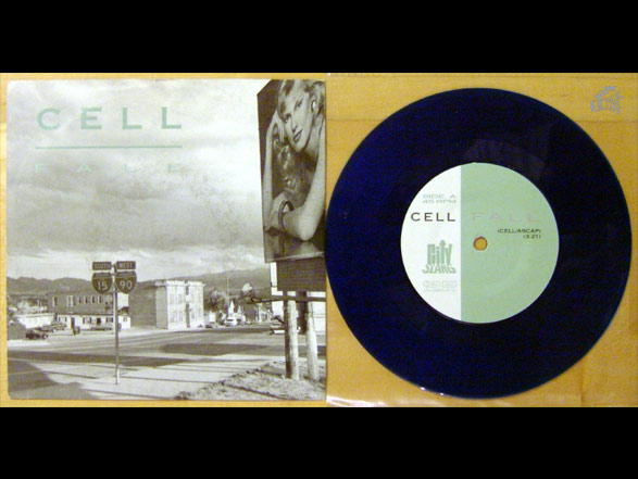 CELL - Fall 7 inch Vinyl Cover