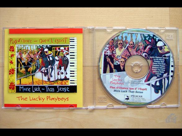 The Lucky Playboys Plus d'chance que d' l'Esprit / More Luck Than Sense CD