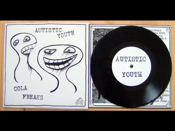 AUTISTIC YOUTH - COLA FREAKS split single