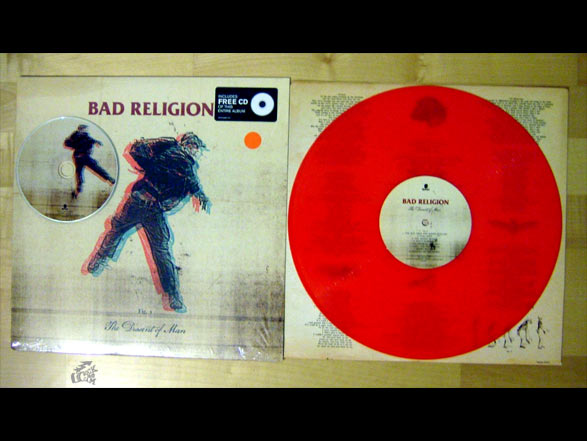 BAD RELIGION - The Dissent Of Man - Epitaph