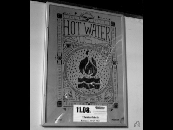 Hot Water Music - Poster
