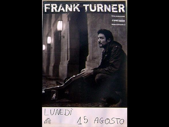 Frank Turner - Poster