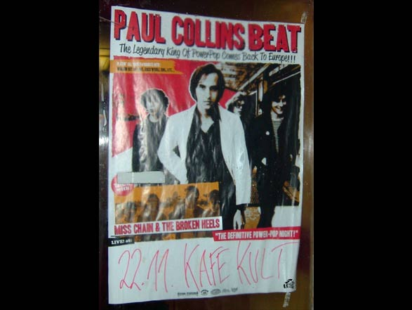 Paul Collins Beat + Miss Chain And The Broken Heels - Poster