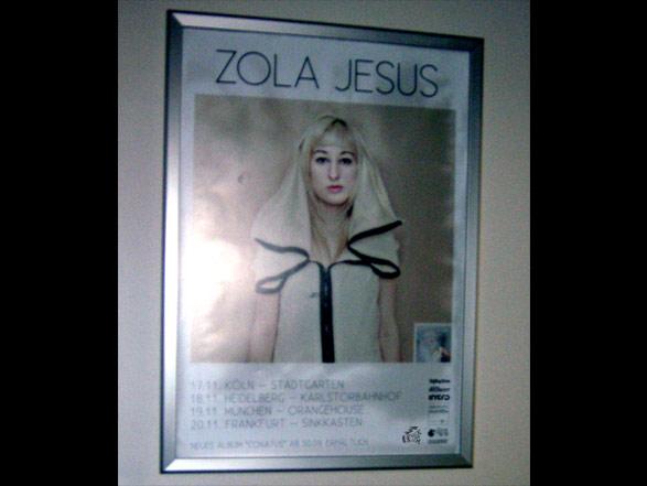 Zola Jesus - Poster