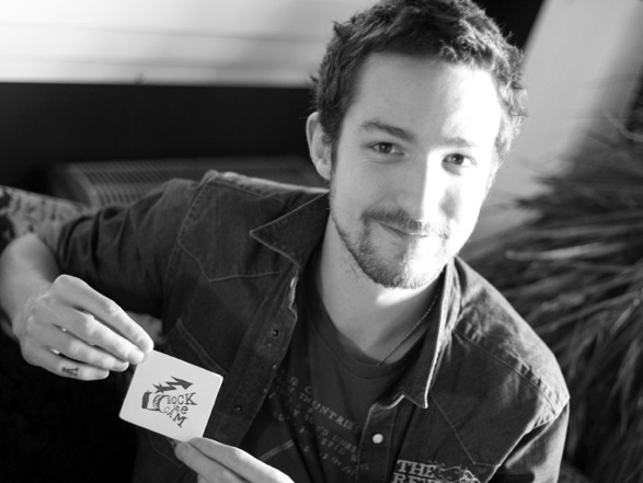 Frank Turner smiling for you