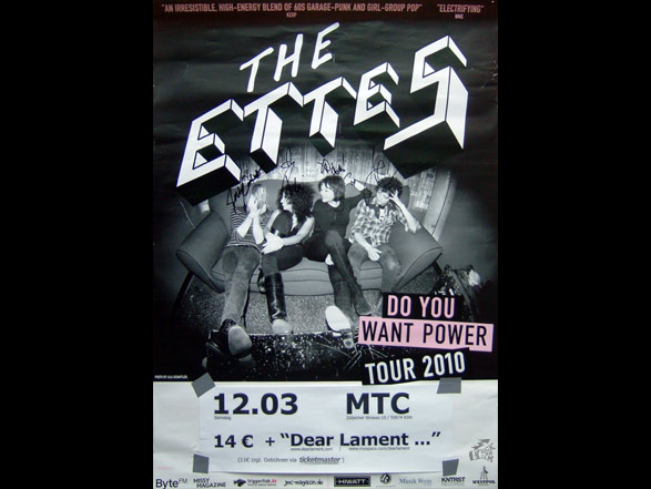 The Ettes - Poster