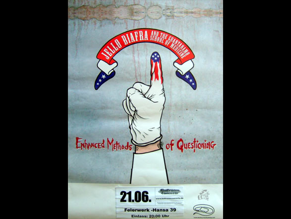 Jello Biafra And The Guantanamo School Of Medicine - Poster