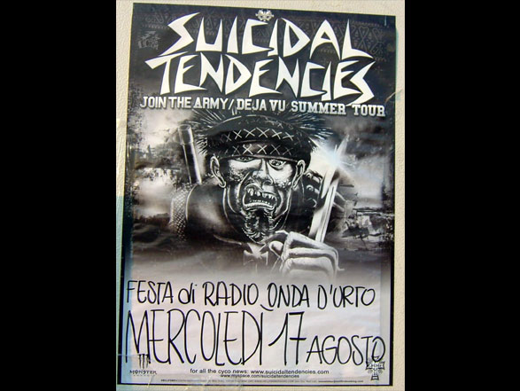 Suicidal Tendencies - Poster