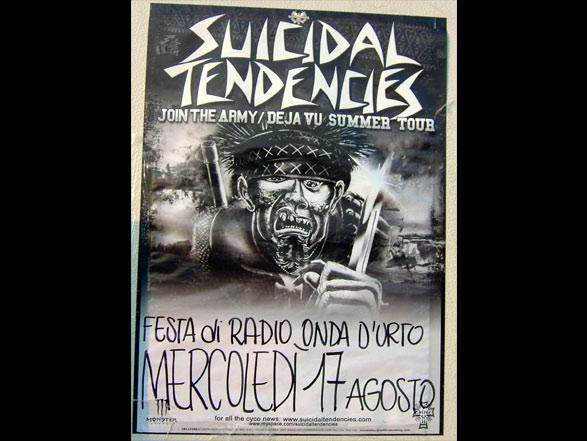 Suicidal Tendencies - Poster