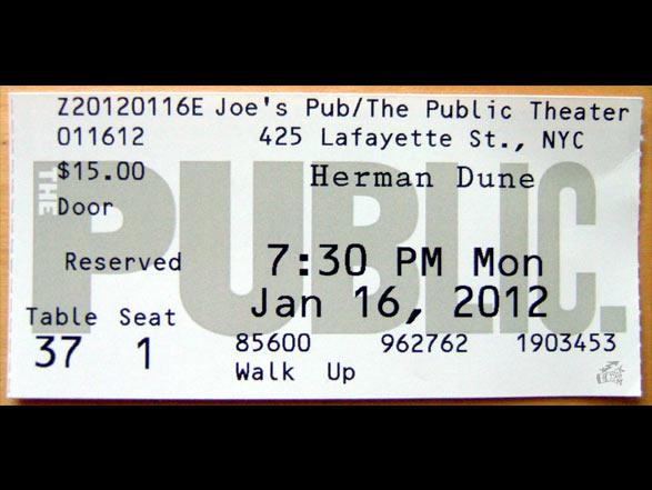Herman Dune - Ticket