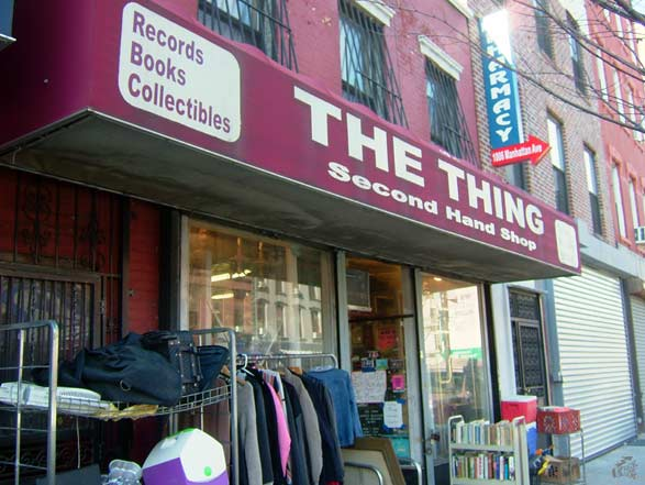 THE THING - records, books, collectibles second hand shop