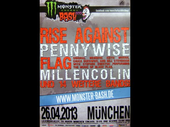 Monster Bash Flyer - München
