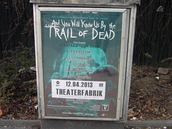 And You Will Know US By The Trail Of Dead - Poster