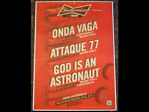 God Is An Astronaut - Poster