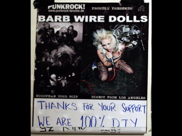 Barb Wire Dolls - Poster