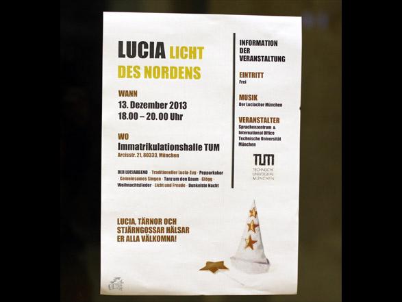 Der Luciachor München - Poster