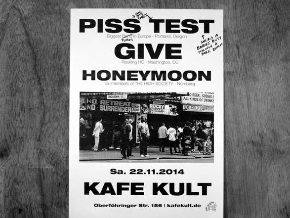 Piss Test - Give - Honeymoon