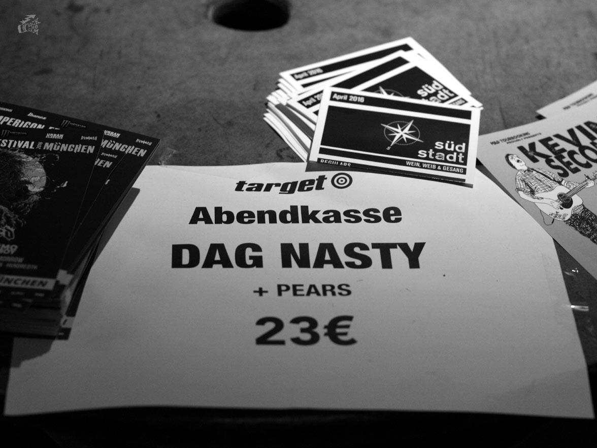 Dag Nasty + Pears