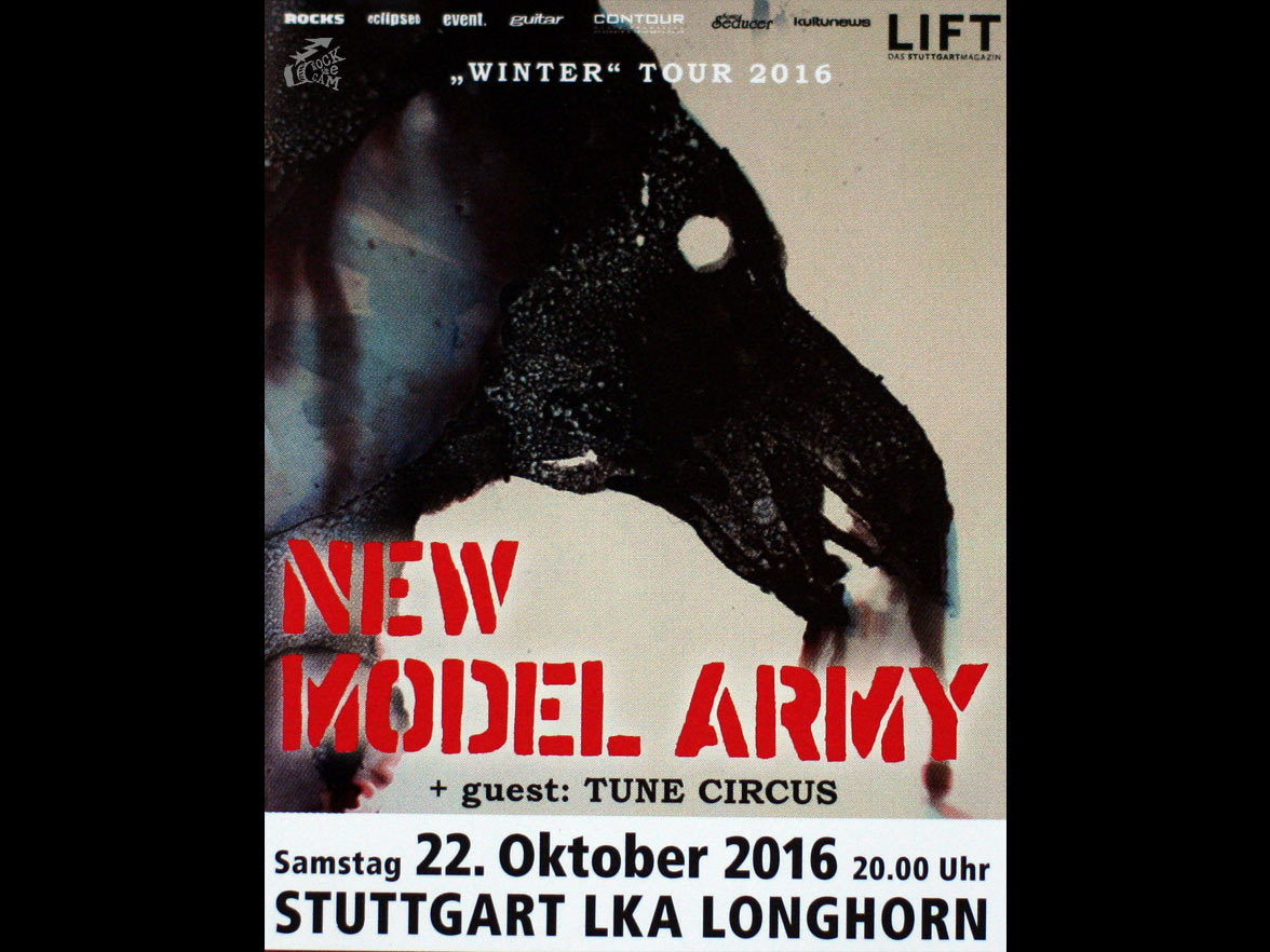 New Model Army Winter-tour